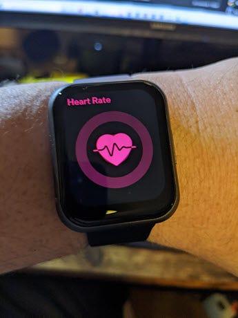 شاهد شاشة 47 معدل ضربات القلب.