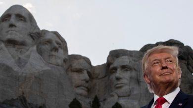 """صورة ألغى بايدن خطة ترامب """"أمريكان هيرو جاردن"""" دونالد ترامب نيوز"""