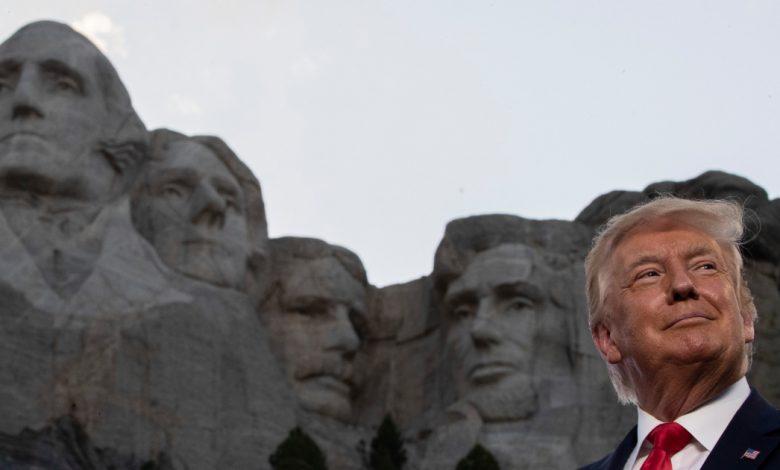 "ألغى بايدن خطة ترامب ""أمريكان هيرو جاردن"" دونالد ترامب نيوز"