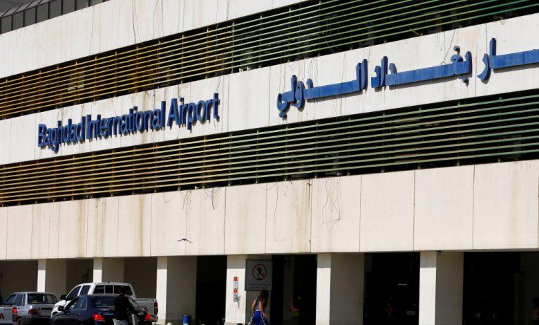 صواريخ تستهدف قاعدة مطار بغداد لاستيعاب أنباء الصراع العسكري الأمريكي
