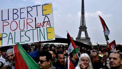 صورة فرنسا تطالب الشرطة بحظر الاحتجاجات المؤيدة للفلسطينيين في باريس – غزة نيوز