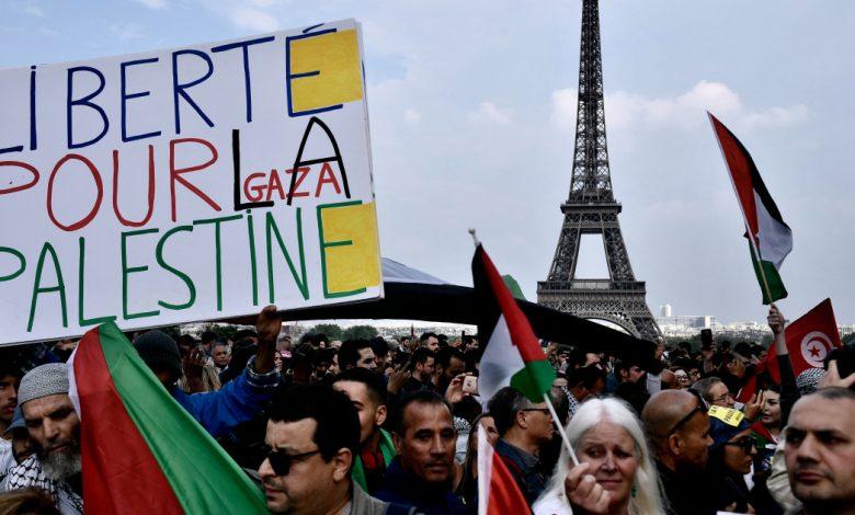 فرنسا تطالب الشرطة بحظر الاحتجاجات المؤيدة للفلسطينيين في باريس - غزة نيوز