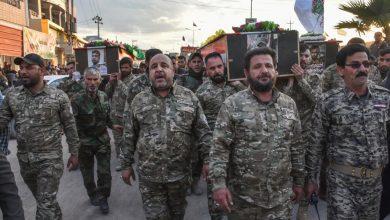 صورة قوات الحشد الشعبي المدعومة من إيران تهز مناطق مثيرة للجدل في العراق | الشرق الأوسط