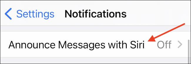 انتقل إلى استخدام منطقة Siri لنشر الرسائل