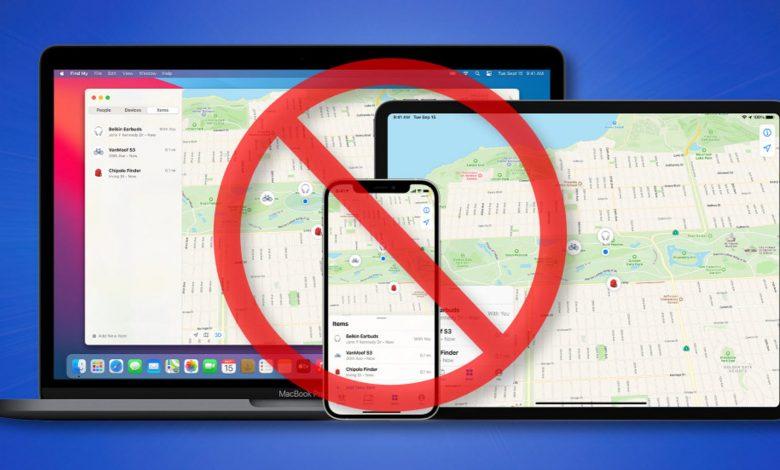 """كيفية تسجيل الخروج من شبكة """"Find My"""" الخاصة بشركة Apple على iPhone و iPad و Mac"""
