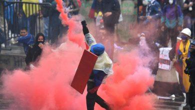 صورة بينما يقيم الكولومبيون اليوم الثامن من الاحتجاجات الواسعة النطاق ، يزداد الطلب | أخبار الاحتجاج