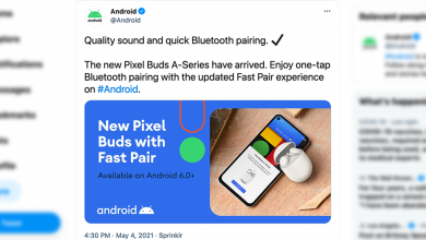 صورة أعلنت Google عن غير قصد عن سلسلة Pixel Buds A على Twitter