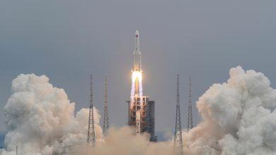 صورة العودة إلى الأرض: عودة الصواريخ الصينية إلى الأرض أخبار الفضاء