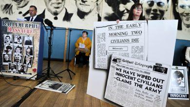 """صورة رئيس الوزراء البريطاني جونسون """"اعتذر بلا تحفظ"""" عن وفاة بلفاست في عام 1971. كونفليكت نيوز"""