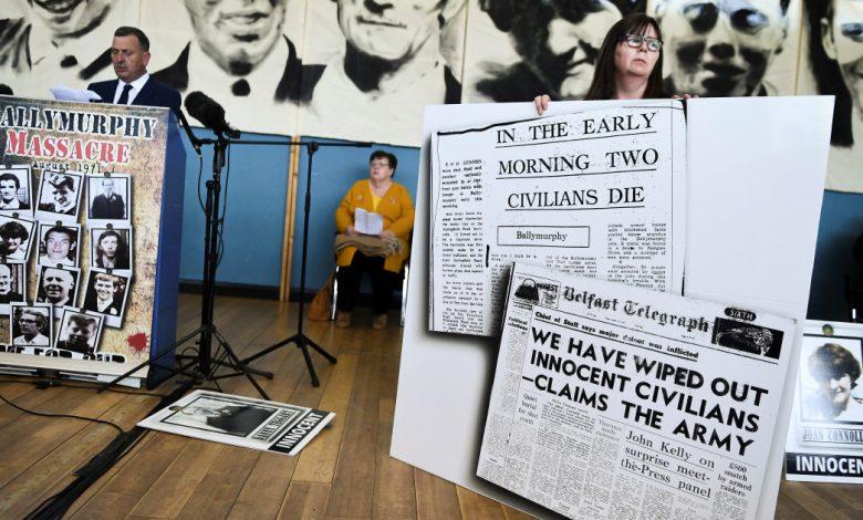 """رئيس الوزراء البريطاني جونسون """"اعتذر بلا تحفظ"""" عن وفاة بلفاست في عام 1971. كونفليكت نيوز"""