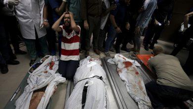 صورة اسرائيل تهاجم مخيمات اللاجئين في غزة وتقتل 10 اشخاص بينهم 8 اطفال | اخبار غزة