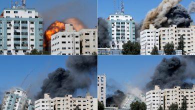 صورة امنحنا 10 دقائق .. كيف قصفت اسرائيل برج غزة الاعلامي | فري برس