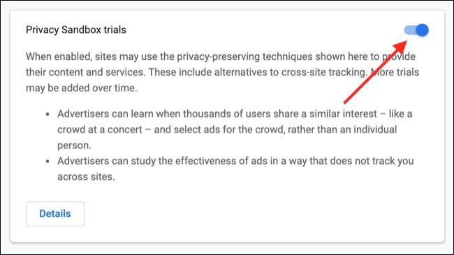إلغاء الاشتراك في حماية خصوصية Google Chrome
