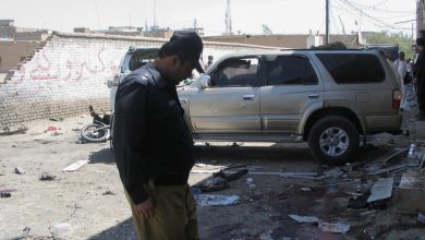 صورة مقتل عدد من الأشخاص في انفجار قنبلة في تجمع مؤيد للفلسطينيين في جنوب غرب باكستان | أخبار الاحتجاج
