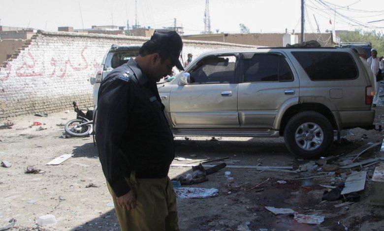 مقتل عدد من الأشخاص في انفجار قنبلة في تجمع مؤيد للفلسطينيين في جنوب غرب باكستان   أخبار الاحتجاج