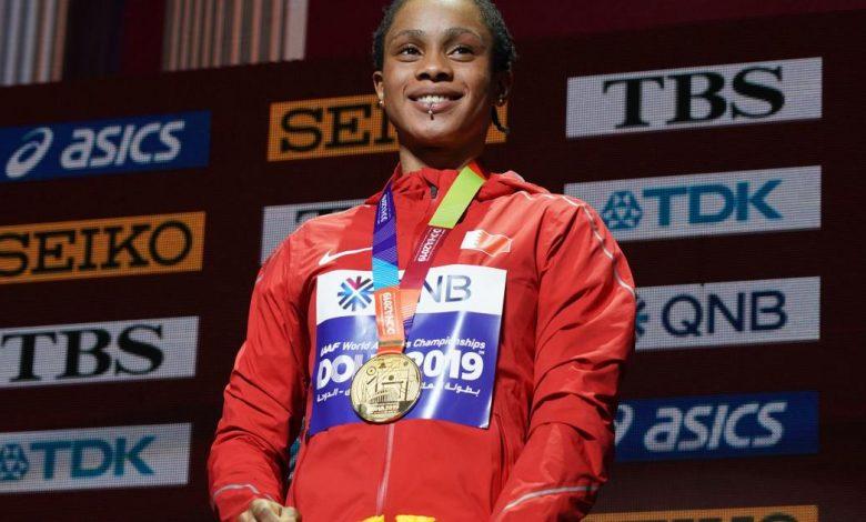 ايقاف بطلة العالم في سباق 400 متر من البحرين ، سلوار ناصر ، لمدة عامين في عيد الفطر | أخبار ألعاب القوى