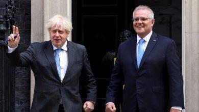 صورة بريطانيا وأستراليا تتوصلان إلى أول اتفاقية للتجارة الحرة بعد خروج بريطانيا من الاتحاد الأوروبي | أخبار التجارة الدولية