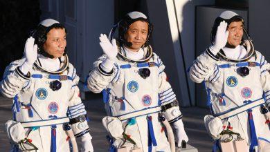 """صورة """"حلم الفضاء"""": انطلق رواد الفضاء الصينيون إلى محطة الفضاء الجديدة   أخبار الصين"""