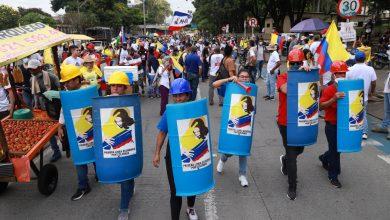 صورة زعيم الاحتجاج الكولومبي يعلق المظاهرات الأسبوعية | أخبار الاحتجاج