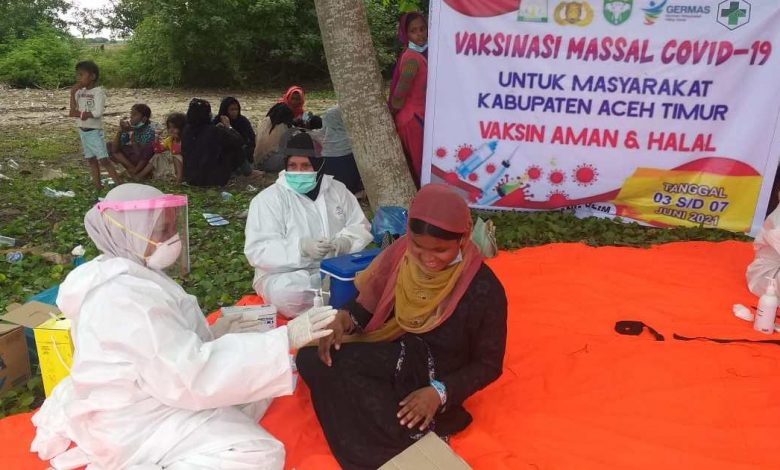 مع وصول فيروس كورونا إلى آسيا ، المعلومات حول تطعيم اللاجئين متباينة | أخبار جائحة فيروس كورونا