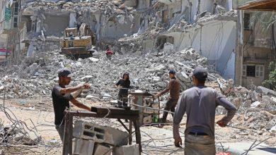 """صورة مفاوضات حماس والأمم المتحدة بشأن الوضع الإنساني في غزة """"فشلت"""" أنباء الصراع الإسرائيلي الفلسطيني"""