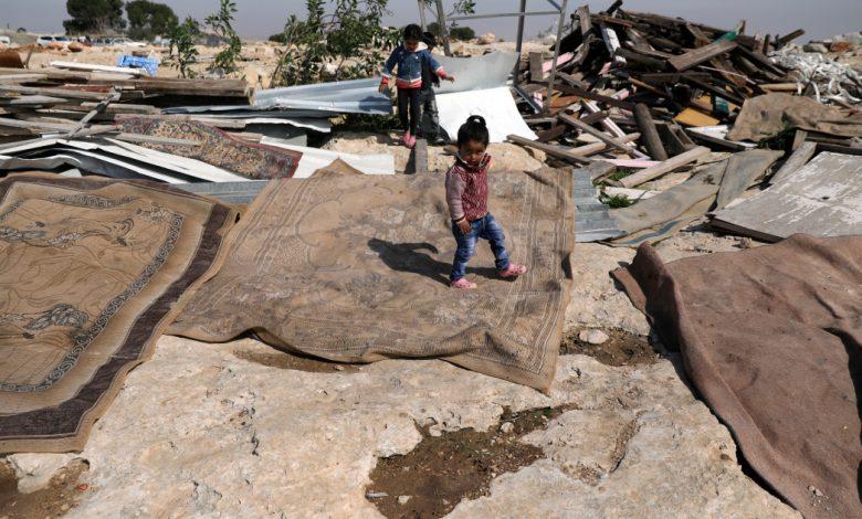 يشعر الأطفال الفلسطينيون بالتخلي عنهم أثناء هدم المنازل: منظمة غير حكومية   أخبار حقوق الطفل