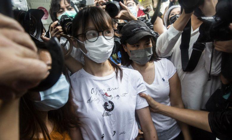 إطلاق سراح الناشط الحقوقي في هونج كونج تشو إنلاي في ذكرى الاحتجاج   أخبار احتجاج هونج كونج