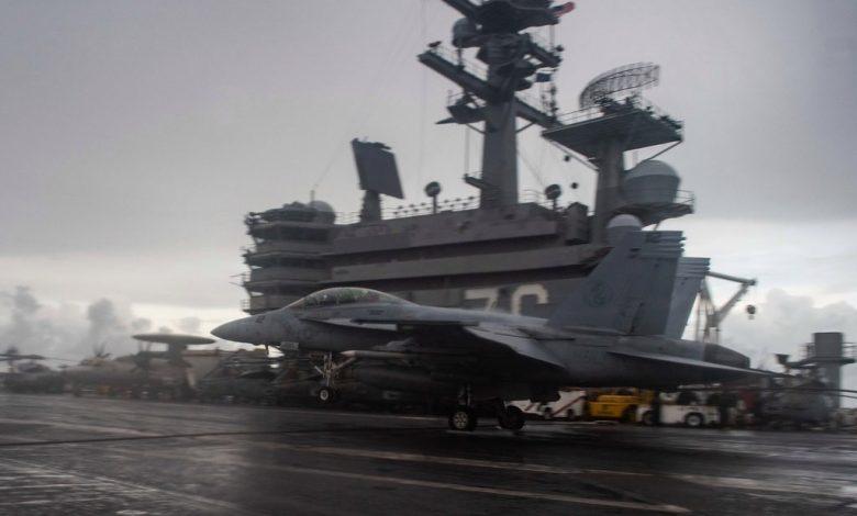 يو إس إس ريغان يدخل بحر الصين الجنوبي | أخبار الولايات المتحدة