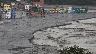 صورة لقي العديد من الأشخاص حتفهم في الفيضانات والانهيارات الأرضية الموسمية في بوتان ، نيبال   أخبار الطقس
