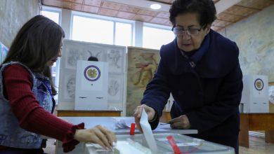 صورة نزاع ناغورنو كاراباخ يلقي بظلاله على استطلاعات الرأي السريعة في أرمينيا | أخبار الانتخابات