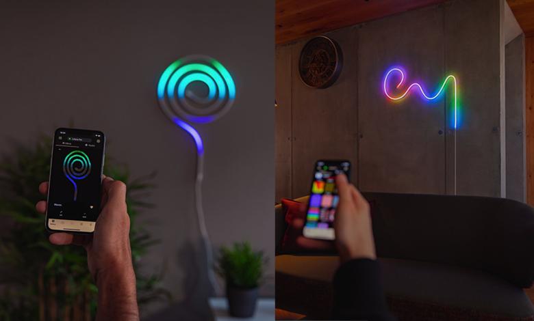 من المتوقع أن يحفز شريط LED القابل للانحناء من Twinkly إبداعك - Comment Geek