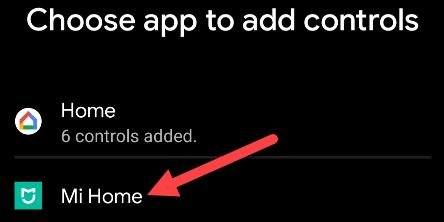 اختر أحد التطبيقات.
