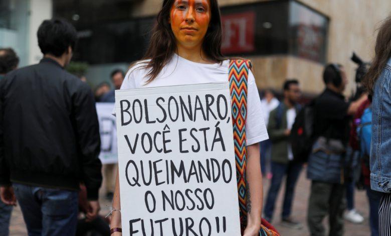 البرازيل تصدر حظرا على الحرائق ، وتعيد نشر قواتها للتعامل مع حريق الأمازون   أخبار المناخ