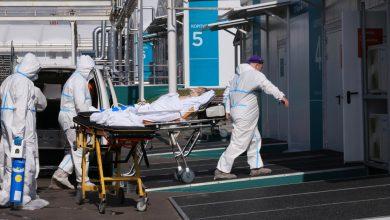 صورة ارتفاع حصيلة الوفيات الناجمة عن الالتهاب الرئوي التاجي الجديد في روسيا إلى مستوى قياسي لليوم الخامس على التوالي أخبار جائحة فيروس كورونا