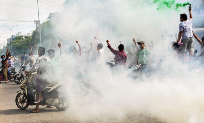"""جيش ميانمار يتبنى """"أربع تخفيضات"""" للقضاء على معارضي الانقلاب   أخبار الصراع"""