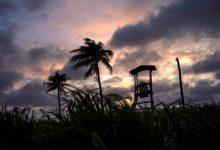 صورة تشتد العاصفة الاستوائية إلسا وقد تصبح إعصارًا